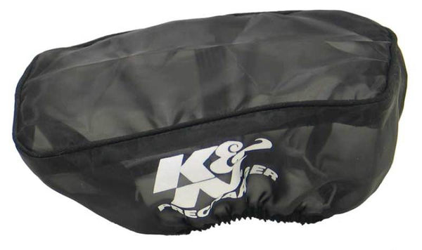 K&N Precharger Air Filter Wrap (Rectangular Filter Shape) - Black