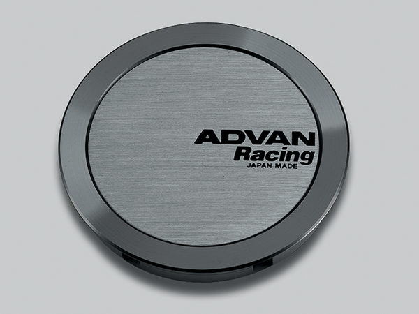 Advan 63mm Full Flat Centercap - Hyper Black