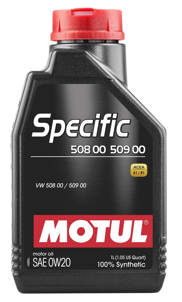 Motul 12x1L OEM Synthetic Engine Oil SPECIFIC 508 00 509 00 - 0W20