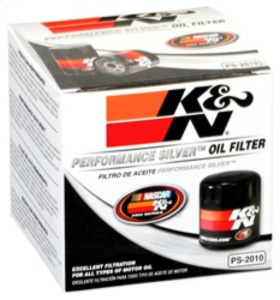 K&N Oil Filter for Ford/Lincoln/Mercury/Mazda/Chrysler/Dodge/Jeep/Cadillac/Ram 3.656in OD x 4in H