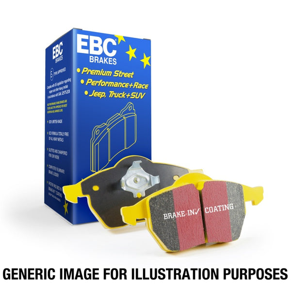 EBC 15+ Mercedes-Benz C300 (W205) 2.0 Turbo 4-matic Yellowstuff Rear Brake Pads