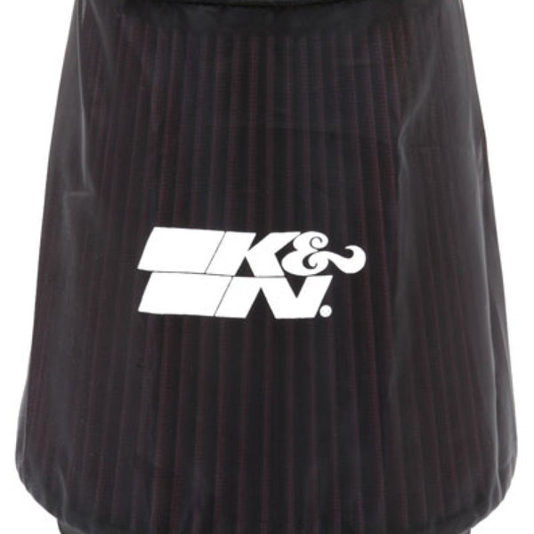 K&N Universal P Dry charger Round Tapered Air Filter Wrap Black