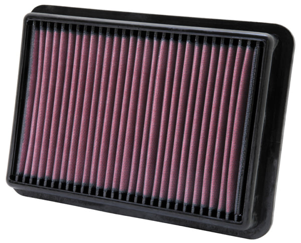 K&N 05-11 Nissan Navara 2.5L L4 10.5in OS Length/7.438in OS Width/1.438in H Replacement Air Filter