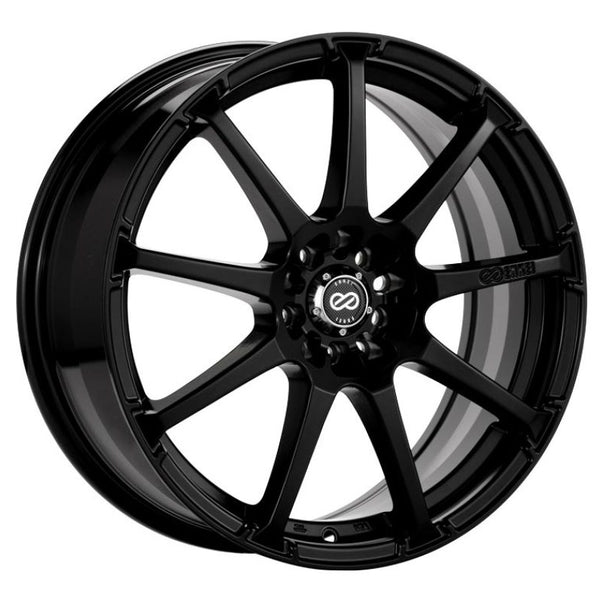 Enkei EDR9 16x7 4x100/114.3 38mm offset 72.6 Bore Diameter Matte Black Wheel