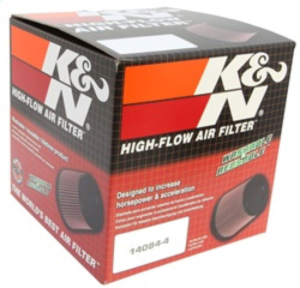 K&N Filter Universal Rubber Filter Round Tapered 4.5in  Flange 5.875in Base 4.5 inch Top 6in  Height