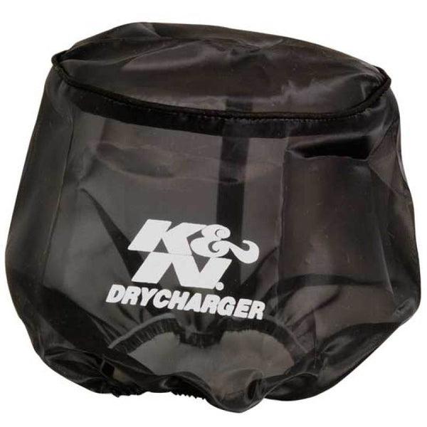 K&N Drycharger Round Tapered Black Filter Wrap