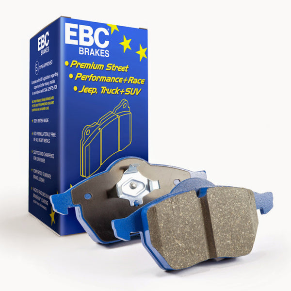EBC 04-12 Aston Martin DB9 5.9 Bluestuff Rear Brake Pads