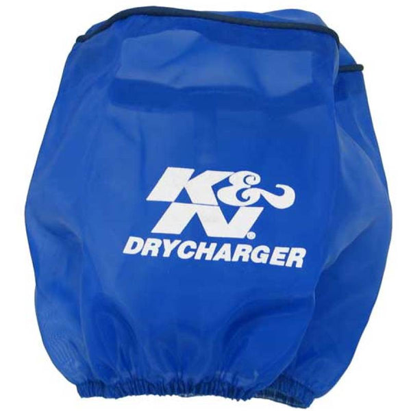 K&N Air Filter Wrap Drycharger Blue