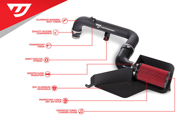 Unitronic 2.0 TFSI Cold Air Intake System