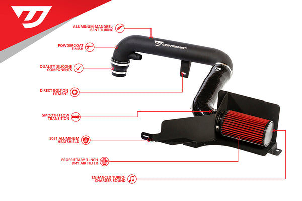 Unitronic 1.8/2.0 TSI Gen3 Cold Air Intake System