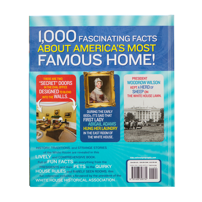 1,000 Facts about the White House-Back Cover