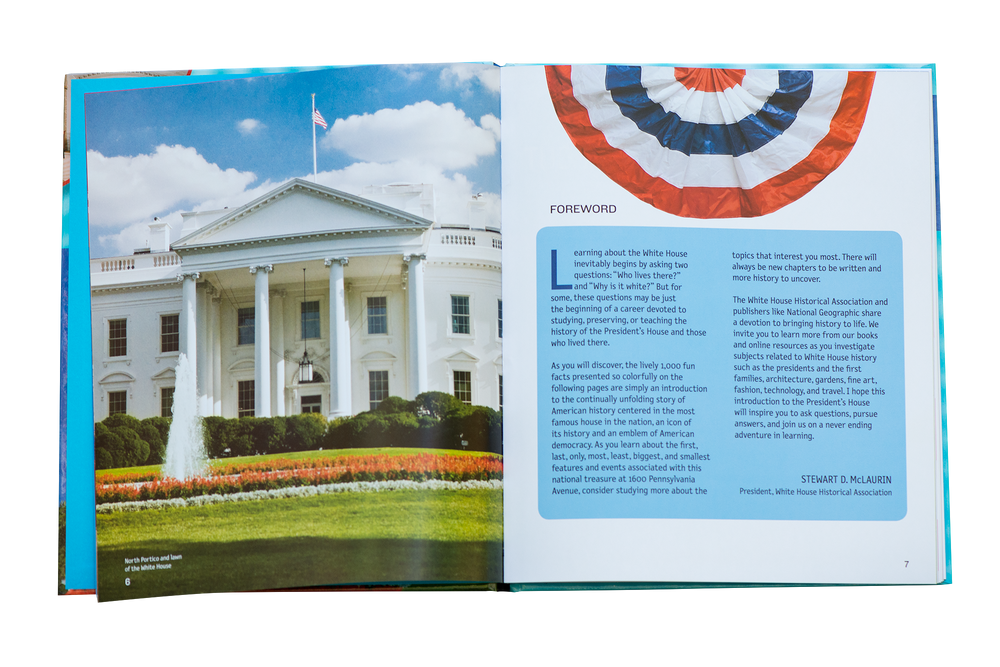 1,000 Facts about the White House-Open Page