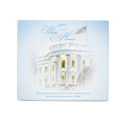 2009 White House Christmas Ornament, First Electric Christmas Lights