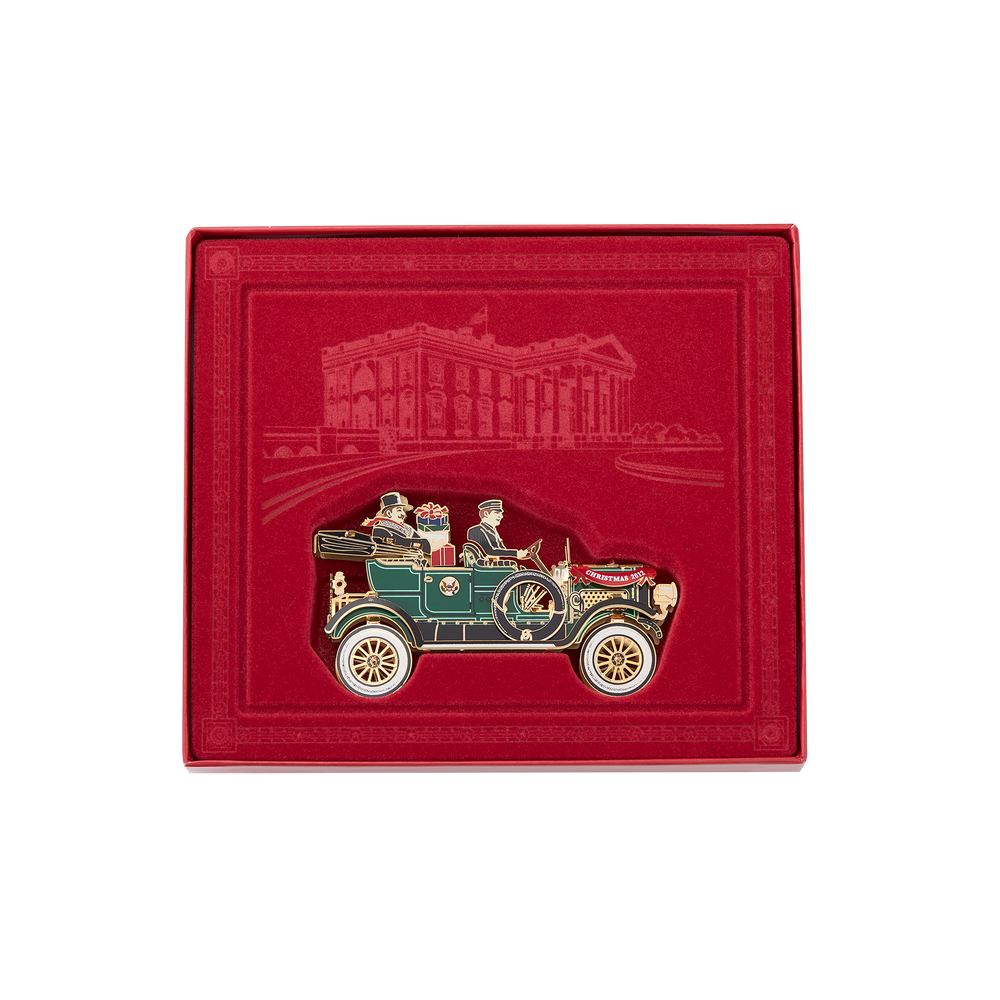 2012 White House Christmas Ornament, The First Presidential Automobile