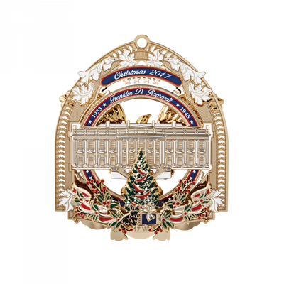 Official 2017 White House Christmas Ornament