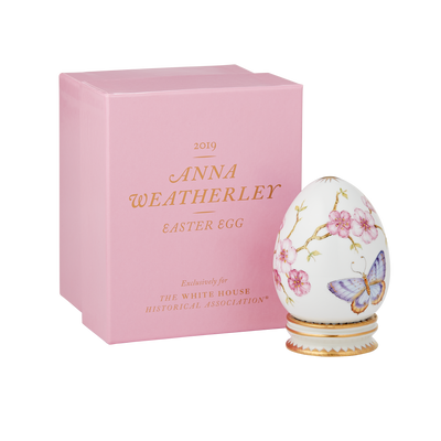 2019 Anna Weatherly Easter Egg-with-box