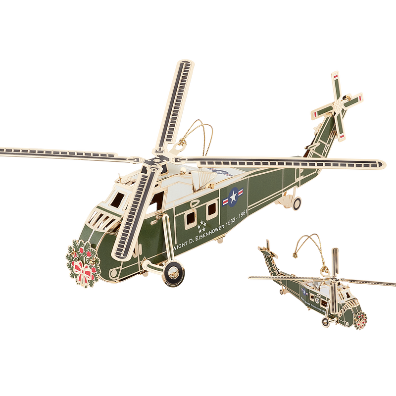 2019 Ornament Helicopter Display Reproduction