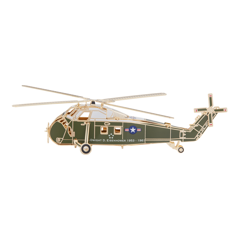 Official 2019 White House Christmas Ornament-helicopter