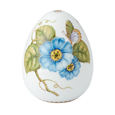 2020 Anna Weatherly Easter Egg-blue flower