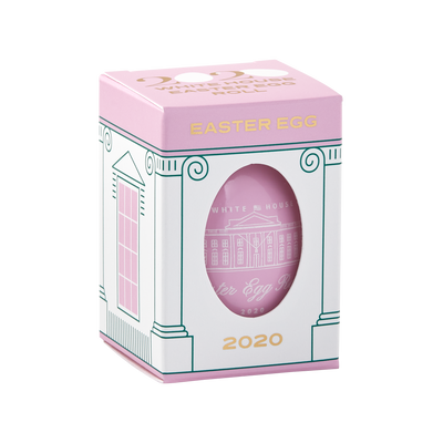 Official 2020 Pink White House Easter Egg