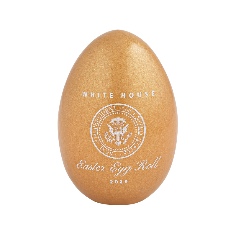 Official 2020 Gold White House Easter Egg_front