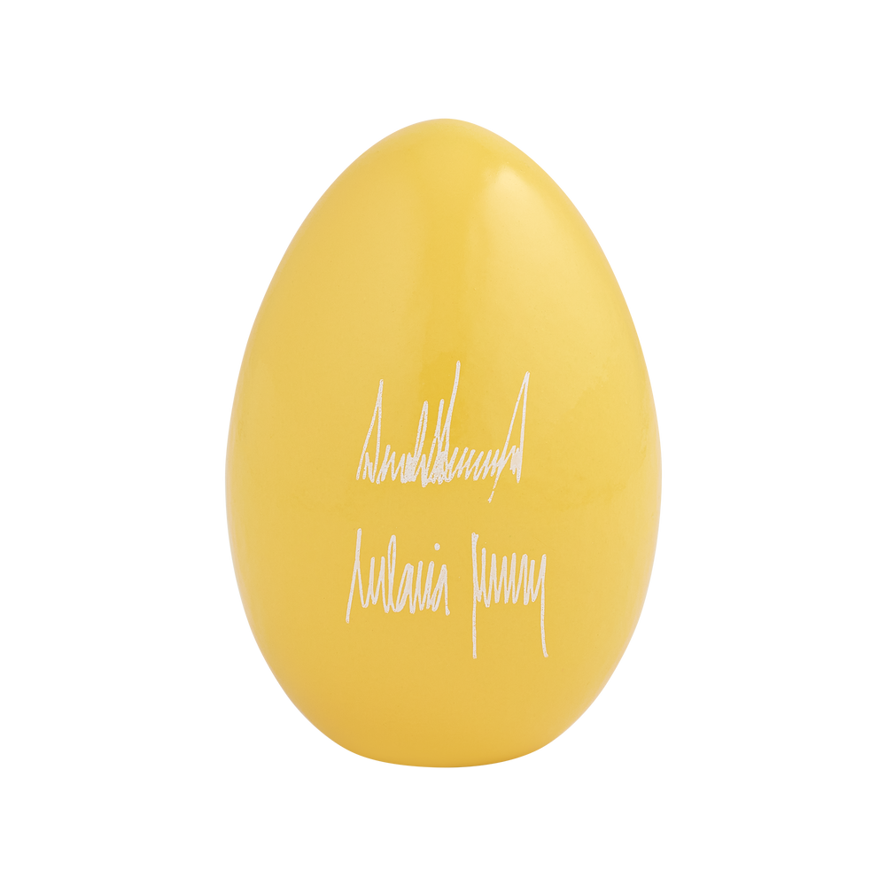 Official 2020 Yellow White House Easter Egg_back
