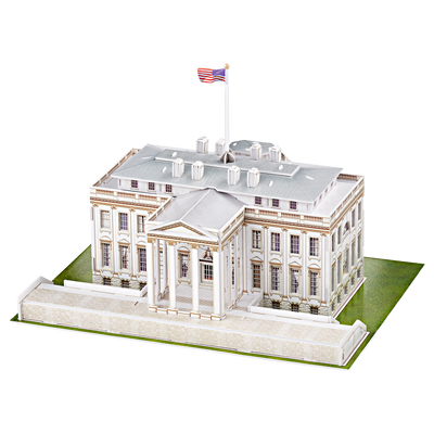 3D architectural puzzle of the White House