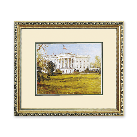White House in Spring, c. 1940