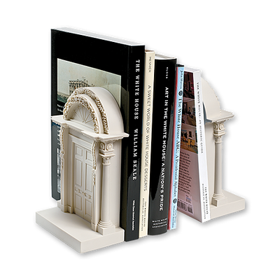 North Portico Bookends