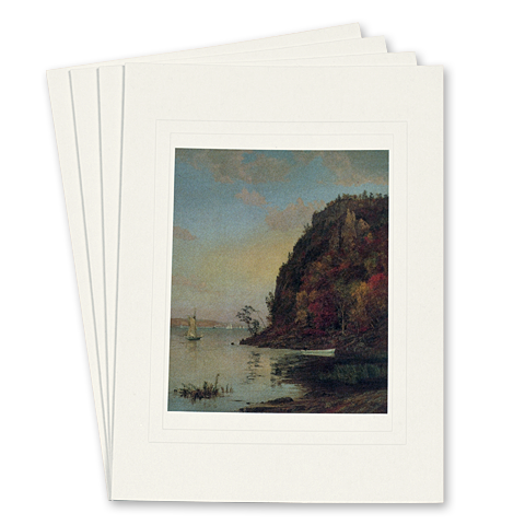 Under the Palisades, in October, by Jasper Cropsey