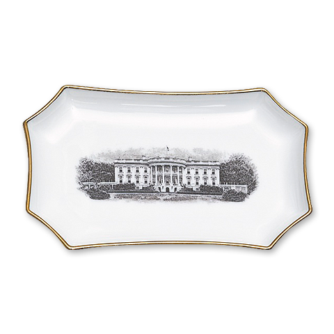 Modern White House Limoges Tray