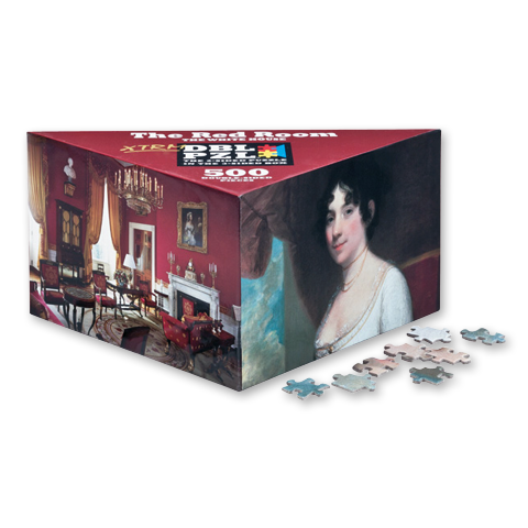 The Red Room Extreme Double Puzzle-500 Piece-Front of Box