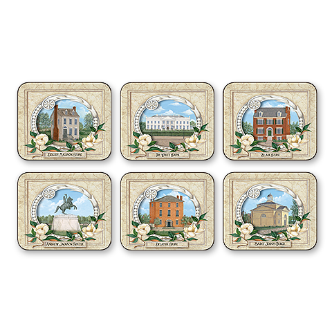 White House Neighborhood Coasters