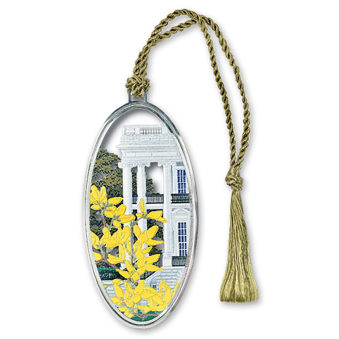South Portico in Spring Bookmark