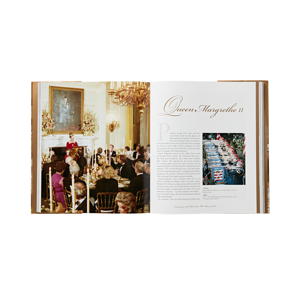 Entertaining At The White House Book-inside
