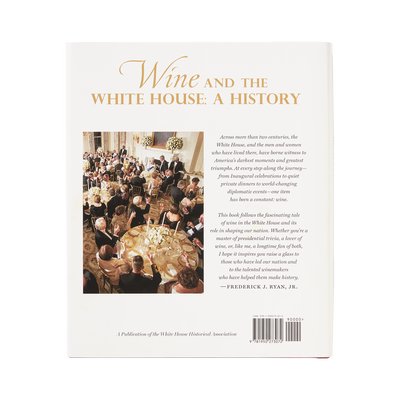 Wine and the White House: A History-Back