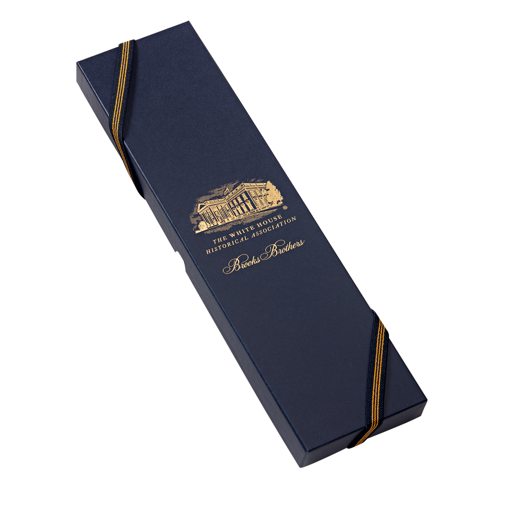 Brooks Brothers Navy Truman Seal Tie-boxed
