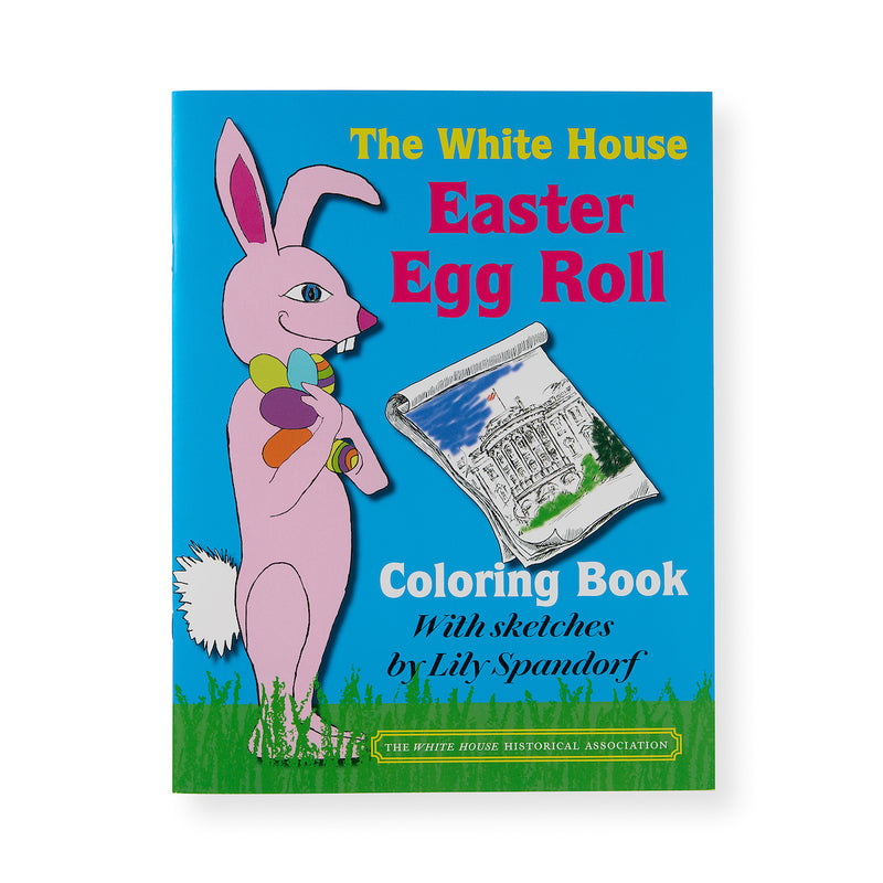The White House Easter Egg Roll Coloring Book-Front Cover