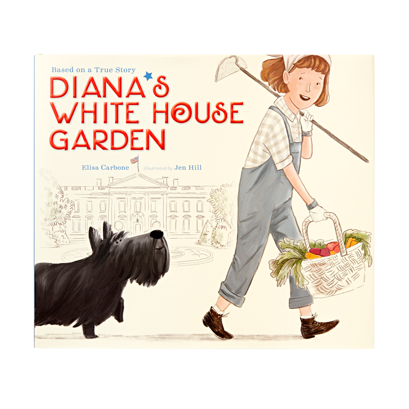 True story of Diana Hopkins started her own Victory Garden on the White House lawn_front