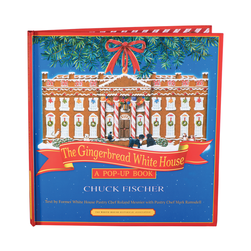 The Gingerbread White House: A Pop-Up Book-Front Cover