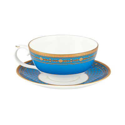 Blue Room Tea for One-Teacup with saucer