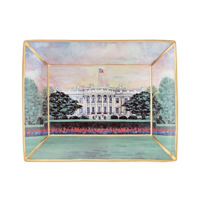 White House at Dawn Tray-Front