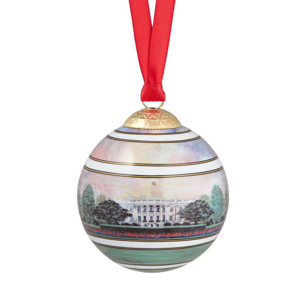 White House at Dawn Ornament
