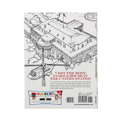 History of the White House Coloring Book