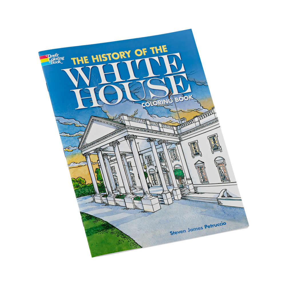 History of the White House Coloring Book_front