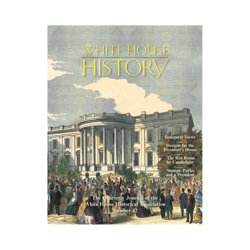 White House History-Inaugural Views (# 42)-Front Cover
