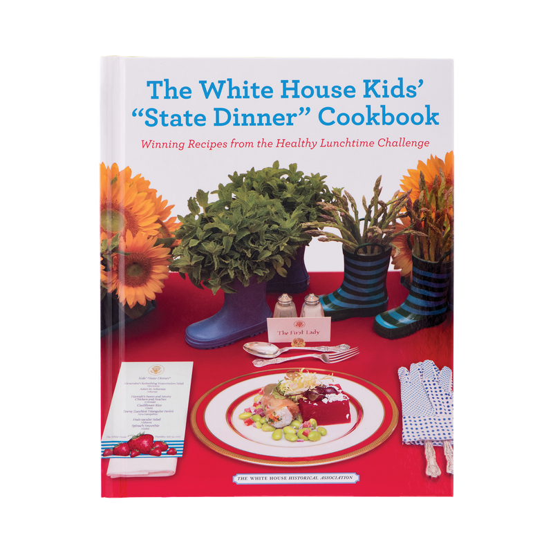 "The White House Kids' ""State Dinner"" Cookbook-Front Cover"