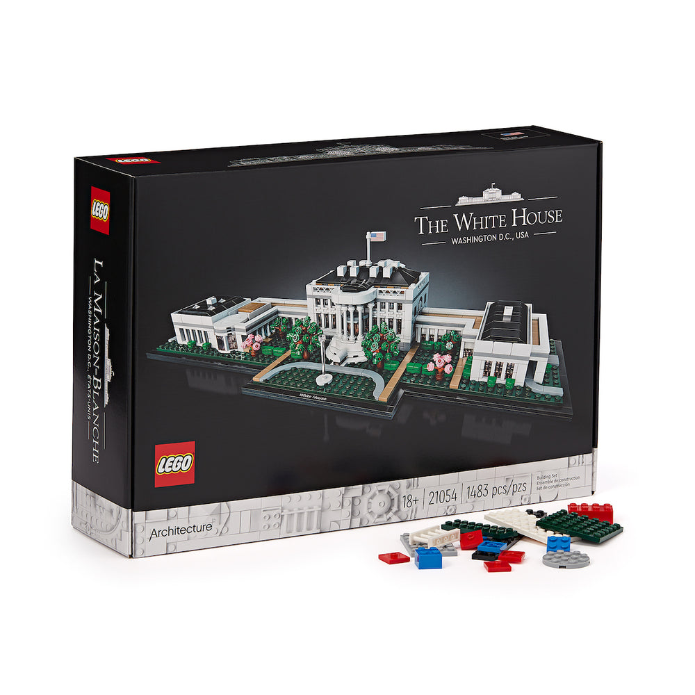 Lego White House-Box