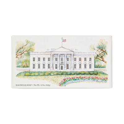 White House Soap Set-Front of Box