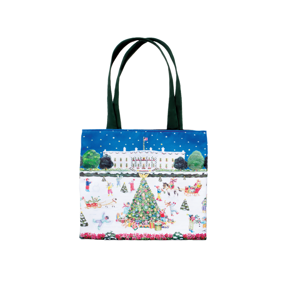 South Lawn Christmas Tote